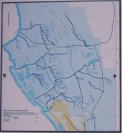 South East Drainage Map