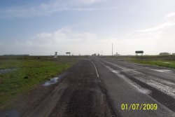 Princess Highway - Beachport to Kargaroo Inn Rd Intersection - View looking toward Kingston - Closer to Intersection